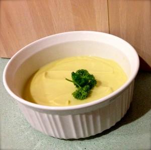 Bechemel Sauce AKA Cauliflower & Leek Soup