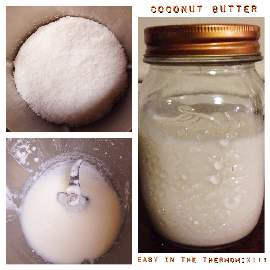 Coconut Butter in the Thermomix