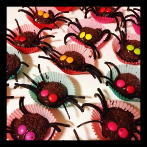 Thermomix Halloween Spiders