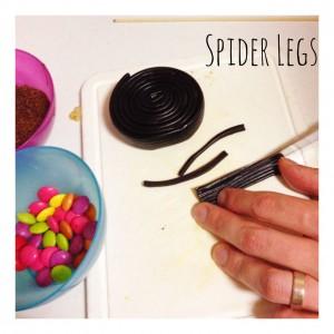 Thermomix Halloween Spider Legs