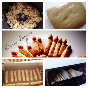 Thermomix Halloween Witch Fingers