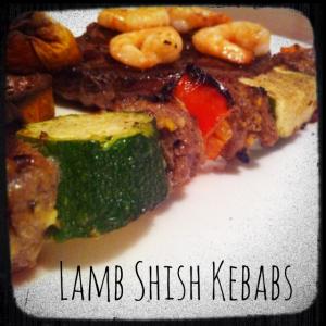 BBQ Lamb Shish Kebabs