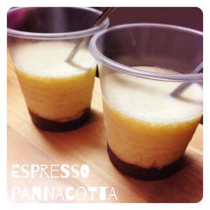 Espresso Pannacotta