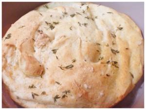 Gluten Free Thyme Focaccia