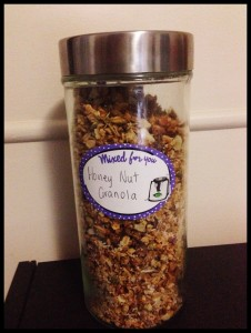 Honey Nut Granola Thermomix