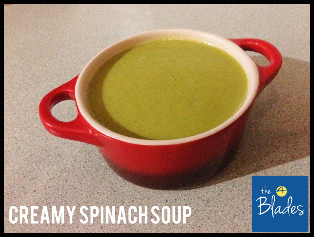 Creamy Spinach Thermomix Soup