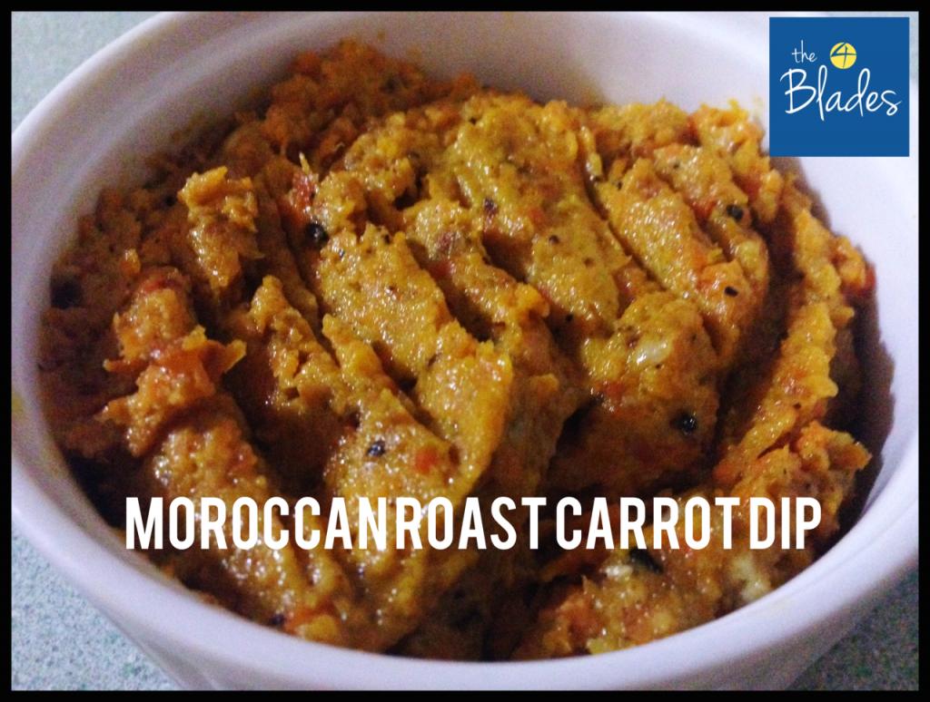 Moroccan Roast Carrot Dip