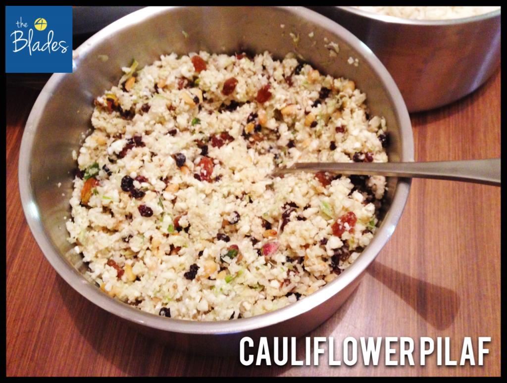 Cauliflower Pilaf Thermomix