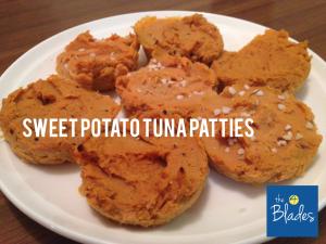 Thermomix Sweet Potato Tuna Patties