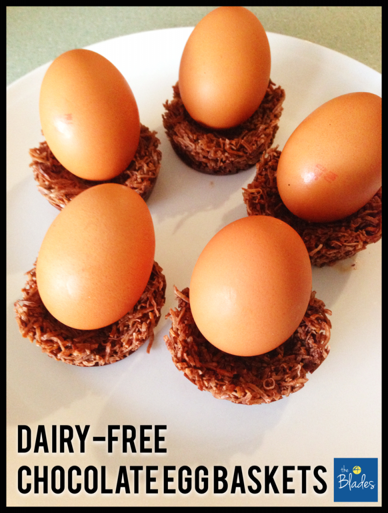 Dairy Free Chocolate Easter Egg Nests