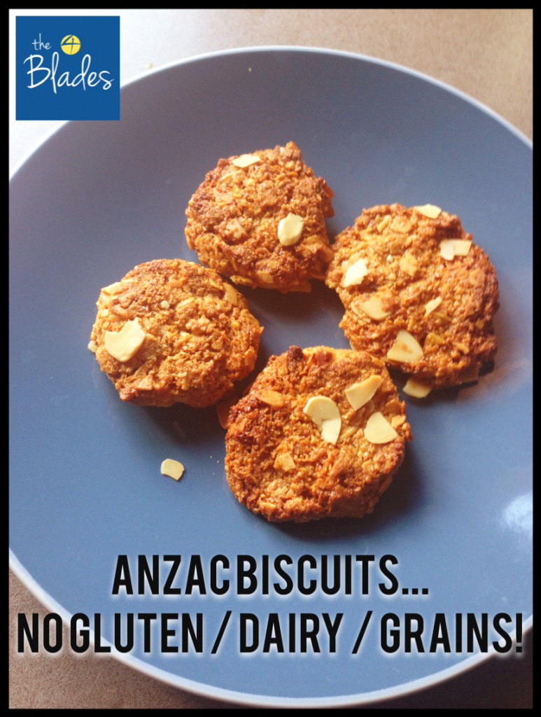 Gluten Free Anzac Biscuits Thermomix