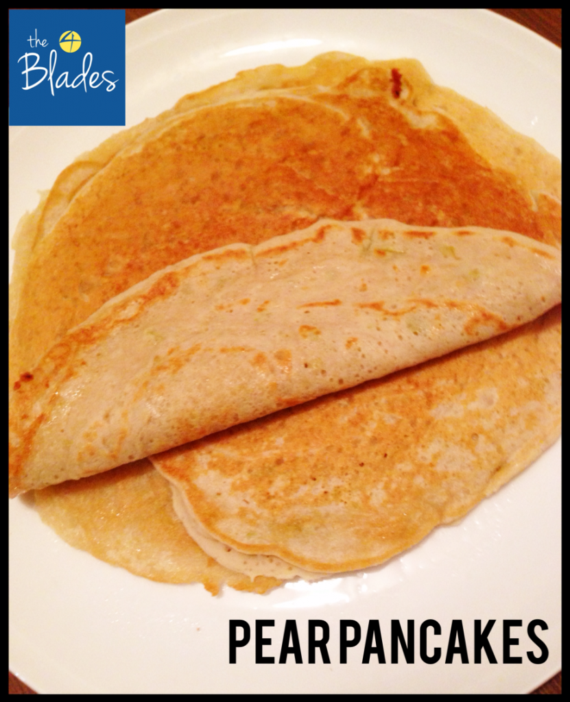Pear Pancakes Thermomix