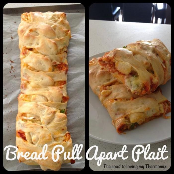 Bread Pull Apart Plait