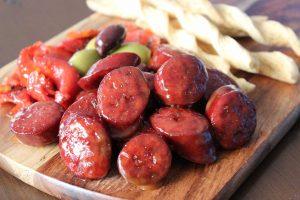 Sticky-Spanish-Chorizo-Thermomix-Recipe