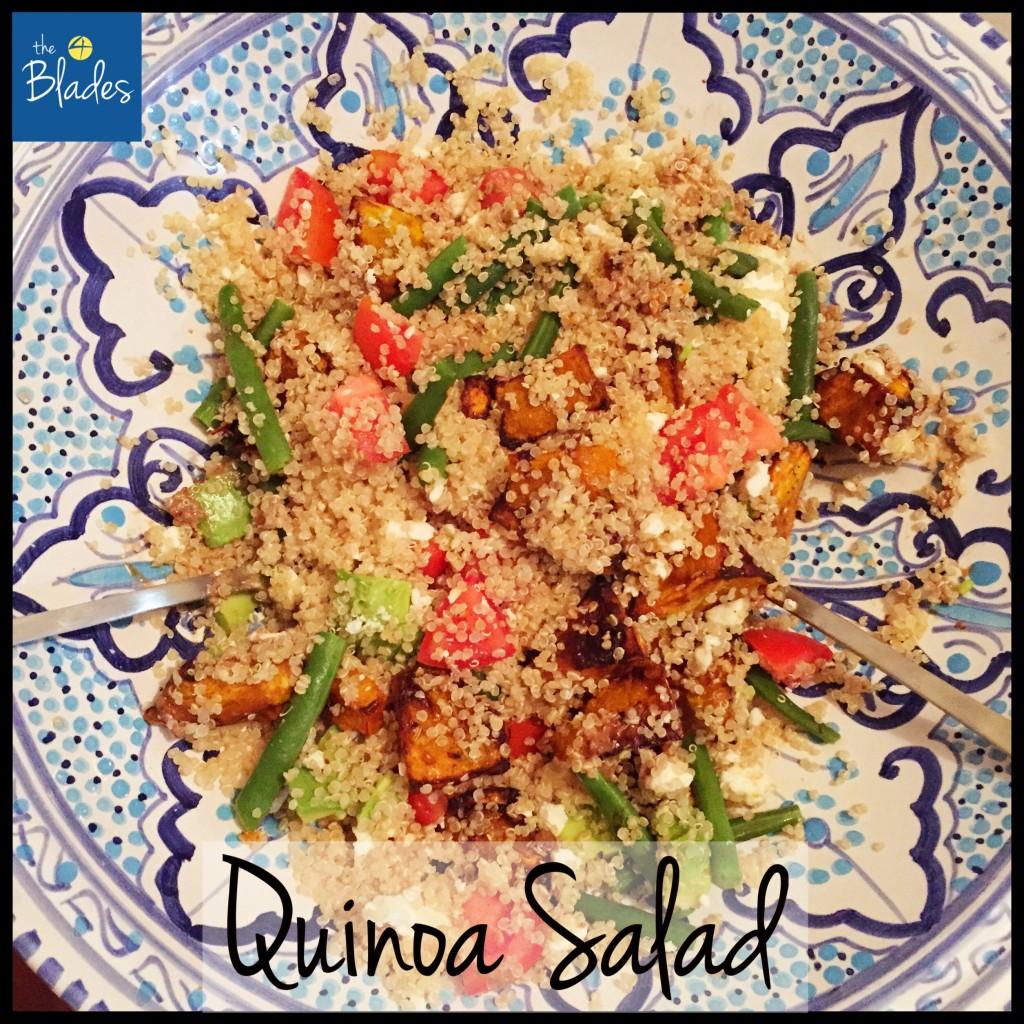 Quinoa Pumpkin Salad Thermomix