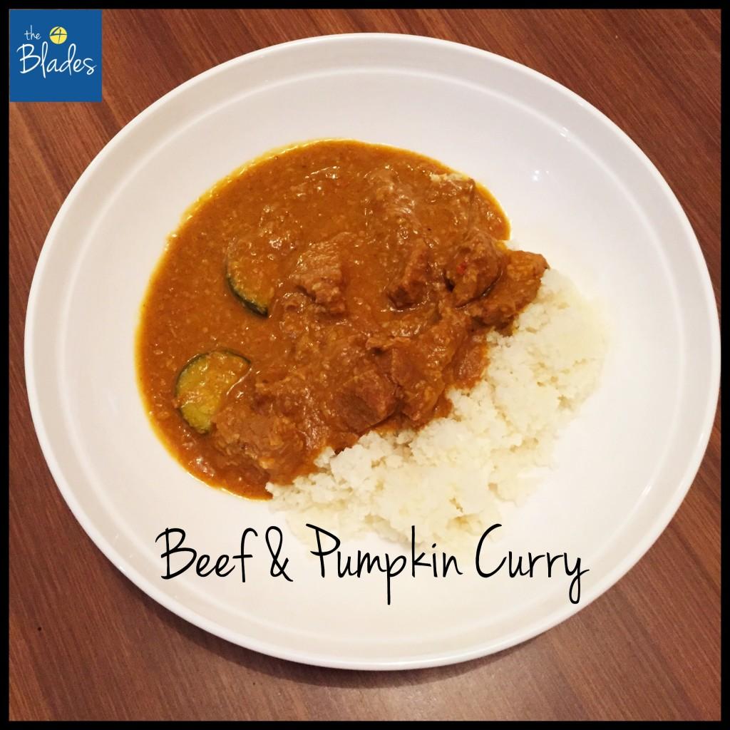 Beef & Pumpkin Curry