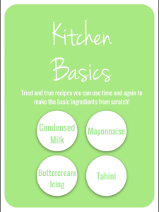 Kitchen Basics Thermomix