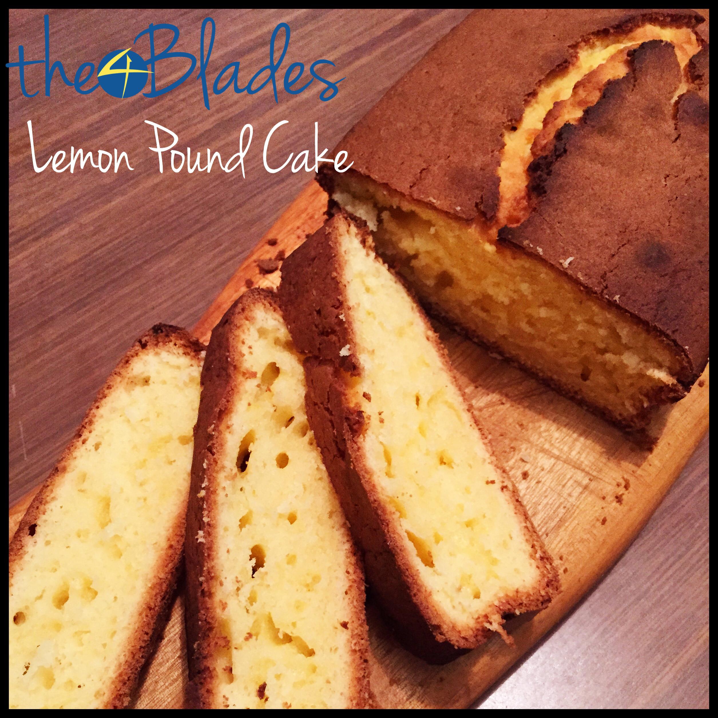 Lemon Pound Cake Thermomix