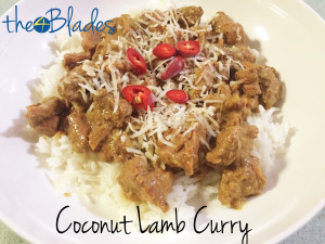Coconut Lamb Thermomix Curry