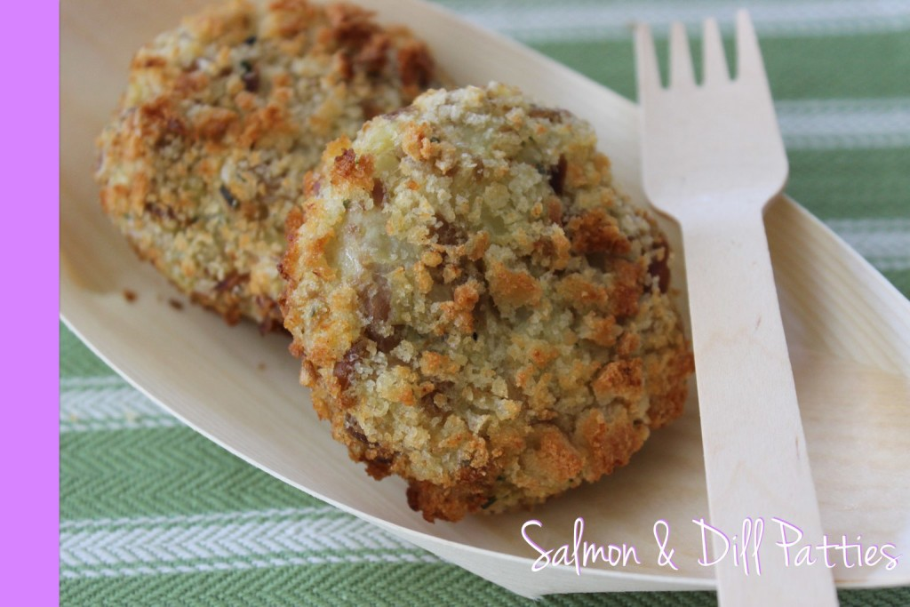 Salmon Patties Thermomix