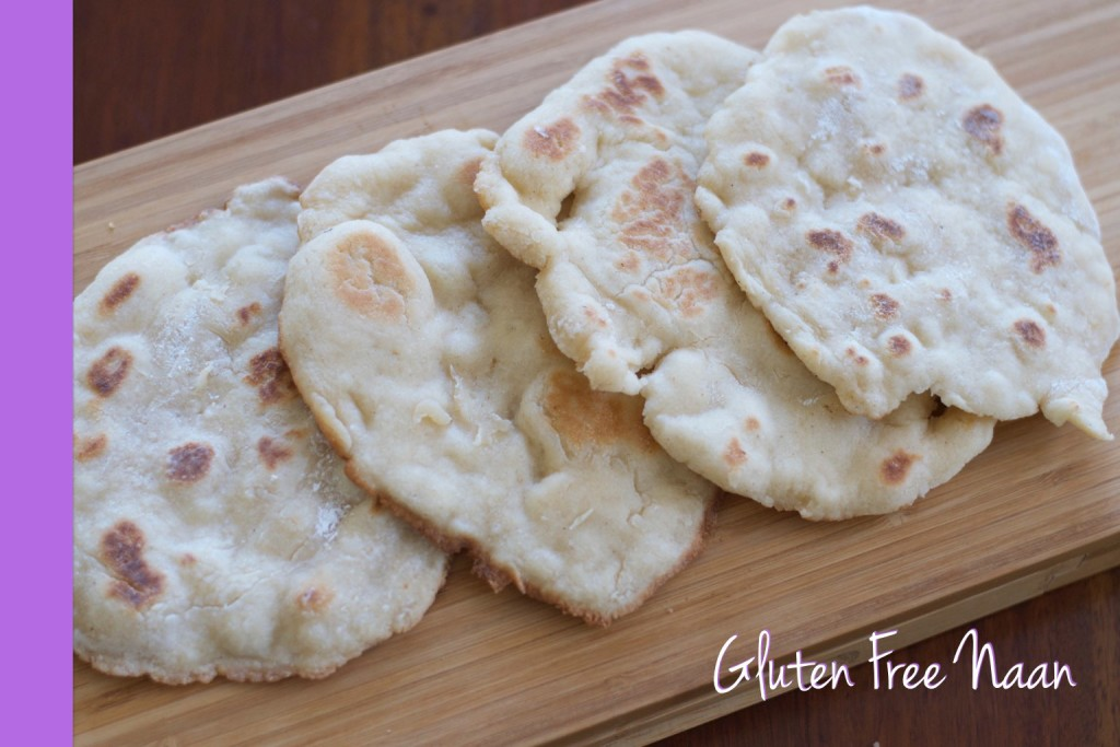 Thermomix Gluten Free Naan