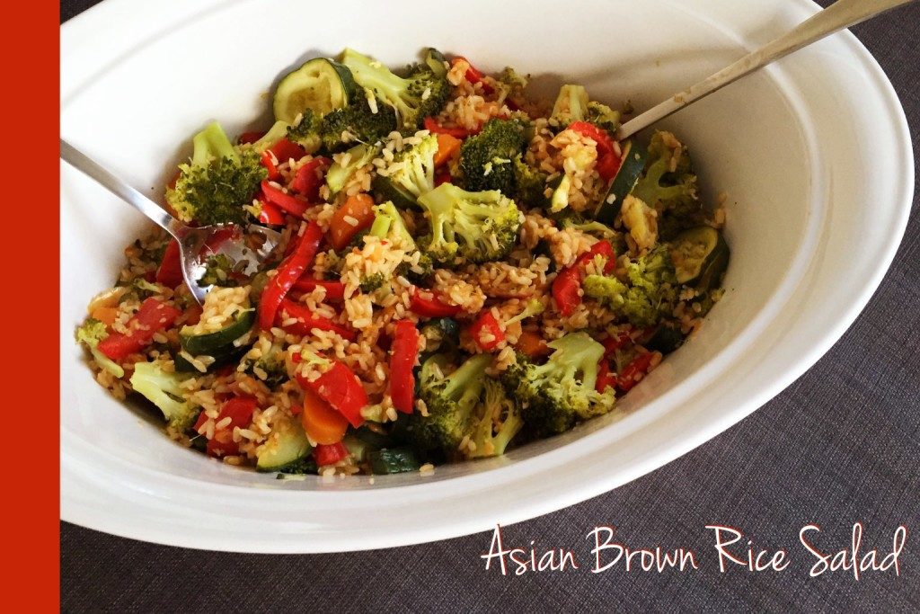 Thermomix Brown Rice Salad