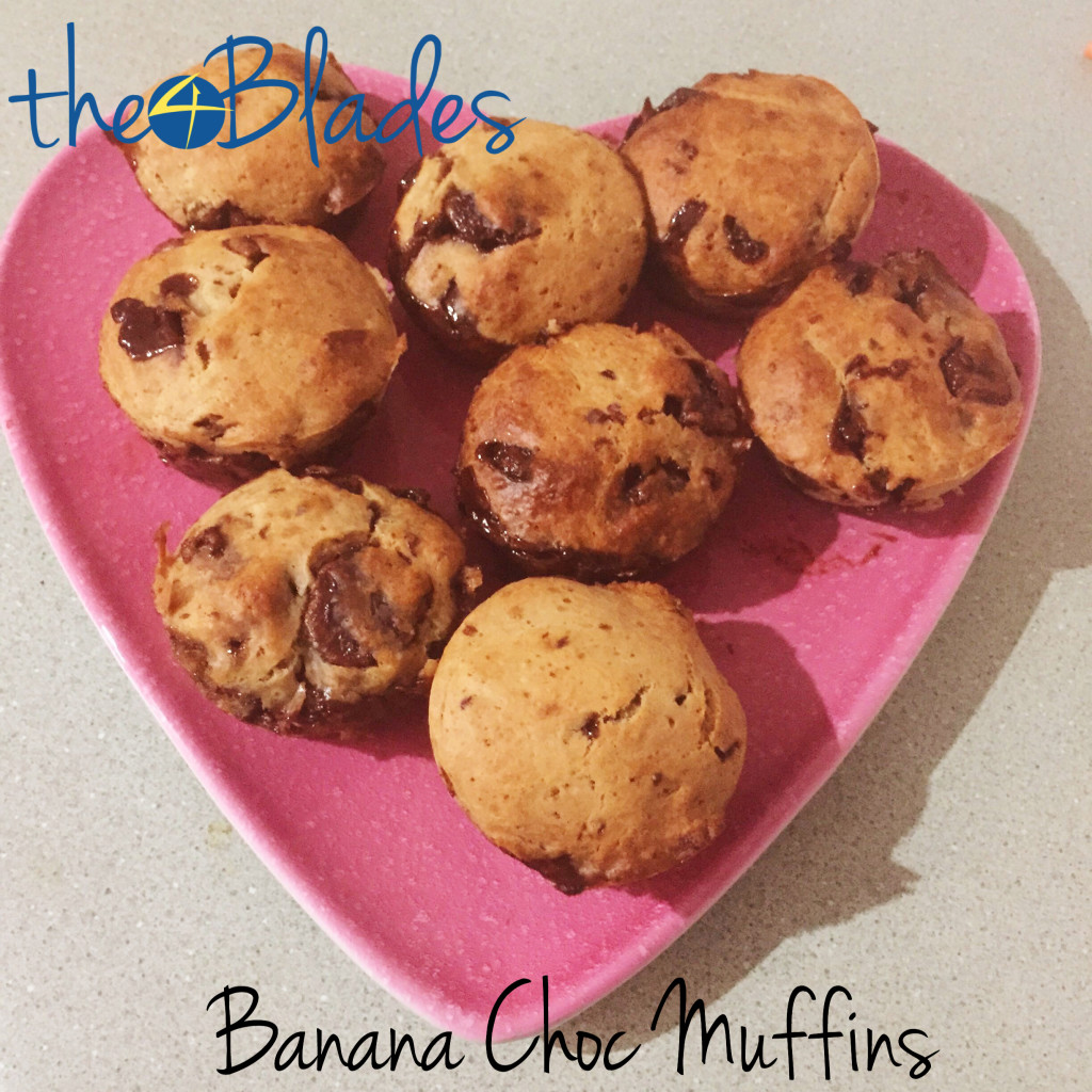 choc chip muffins thermomix
