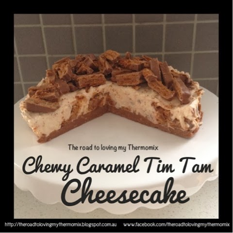 thermomix tim tam cheesecake