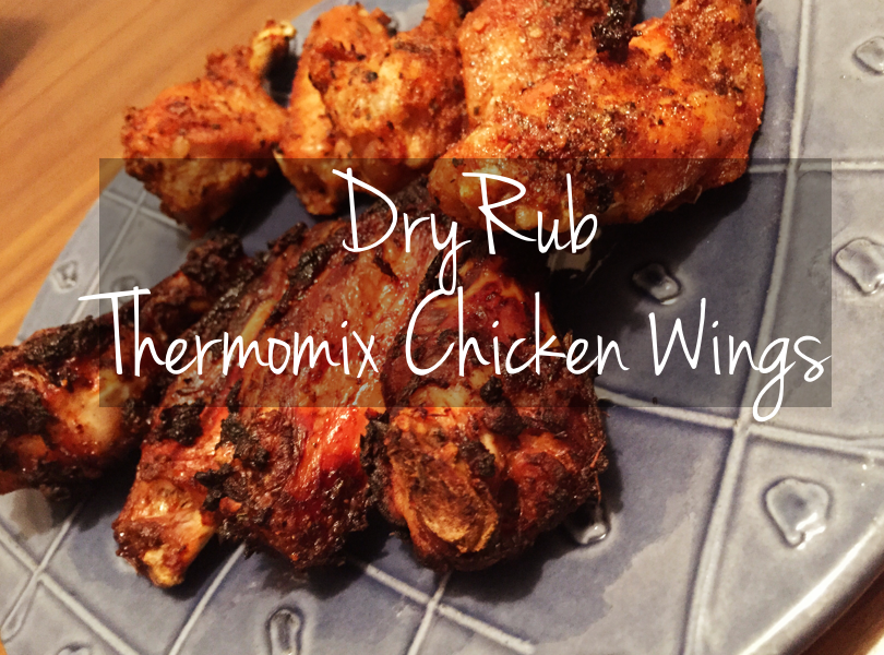 Dry Rub Thermomix Chicken Wings