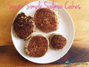 Salmon Fritters Thermomix