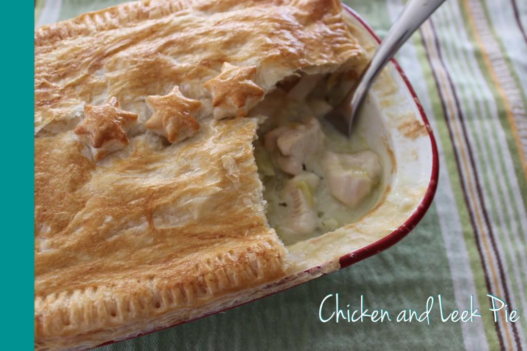 Chicken Leek Pie Thermomix