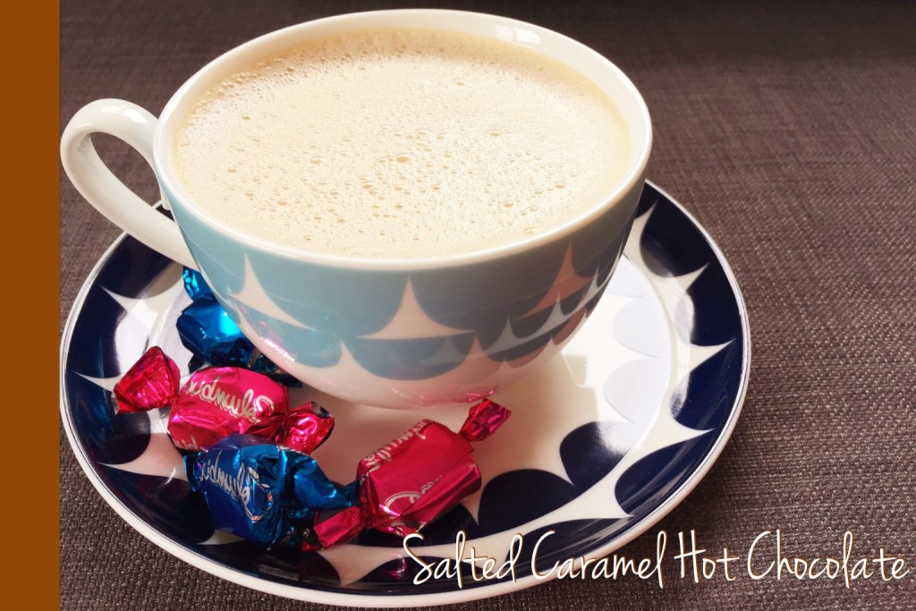 Salted Caramel Hot Chocolate Thermomix