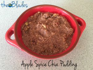 Apple Spice Chia Pudding Thermomix