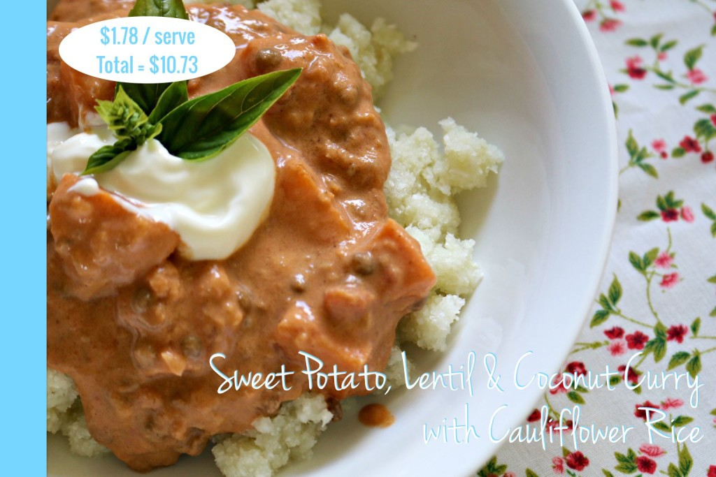 Sweet Potato Curry Thermomix