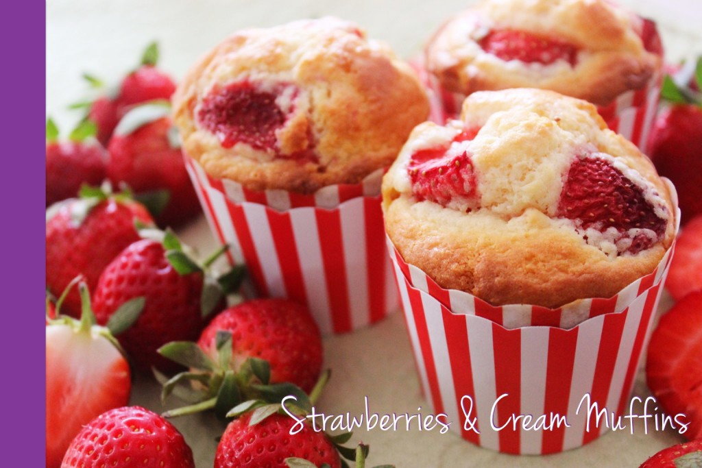 Strawberry Muffins Thermomix