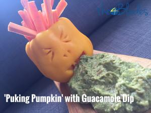 Thermomix Halloween Guacamole Dip