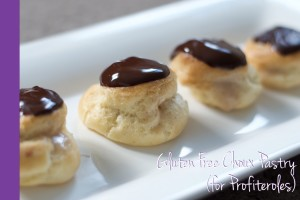 Thermomix Gluten Free Choux Pastry