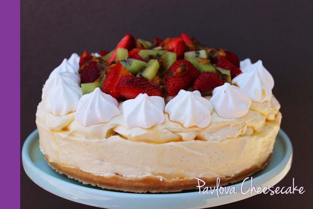 Thermomix Pavlova Cheesecake