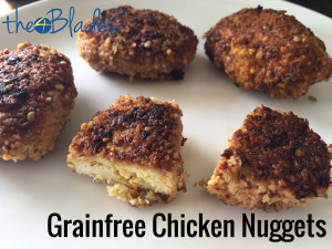 Thermomix Grain Free Chicken Nuggets