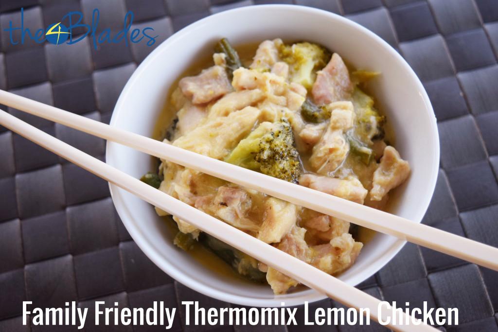 Thermomix Lemon Chicken