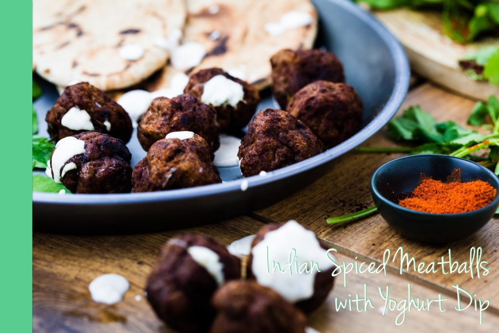 Thermomix Indian Spiced Meat Balls