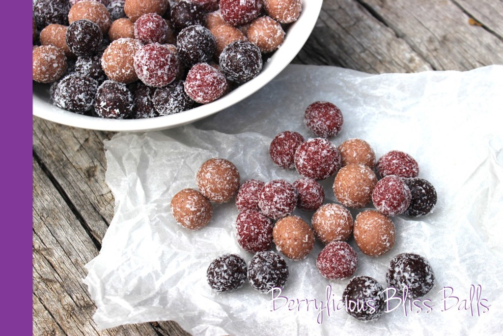 berry bliss balls thermomix