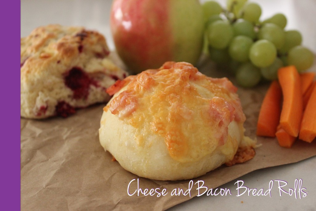 cheese and bacon rolls thermomix