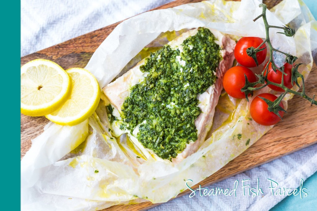 Steamed Fish Thermomix