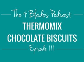 Thermomix chocolate biscuits