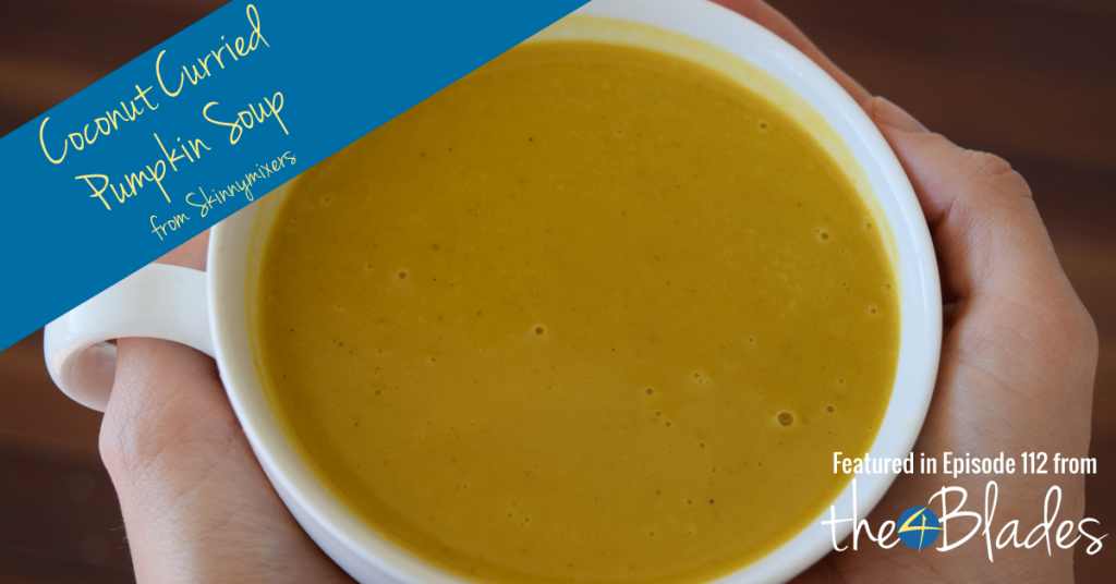 curried pumpkin soup from skinnymixers