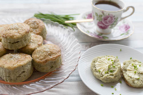 Parmesan and Sage Thermomix Scones