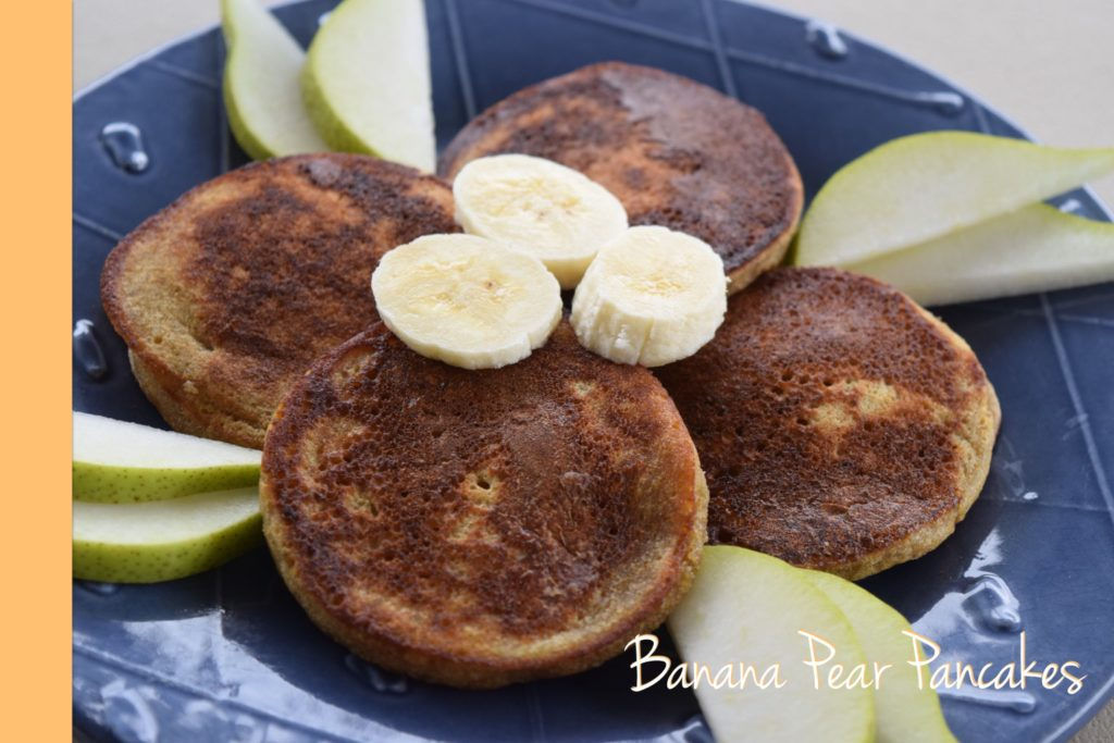 Banana Pear Pancakes thermomix