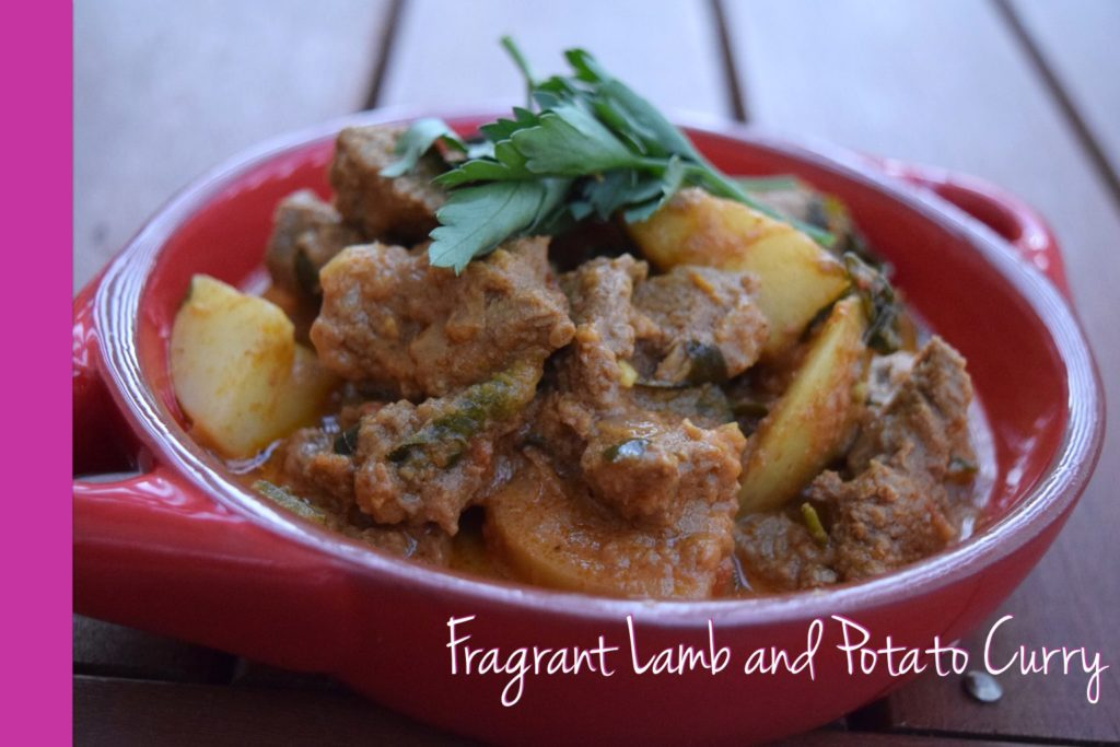 lamb potato curry thermomix