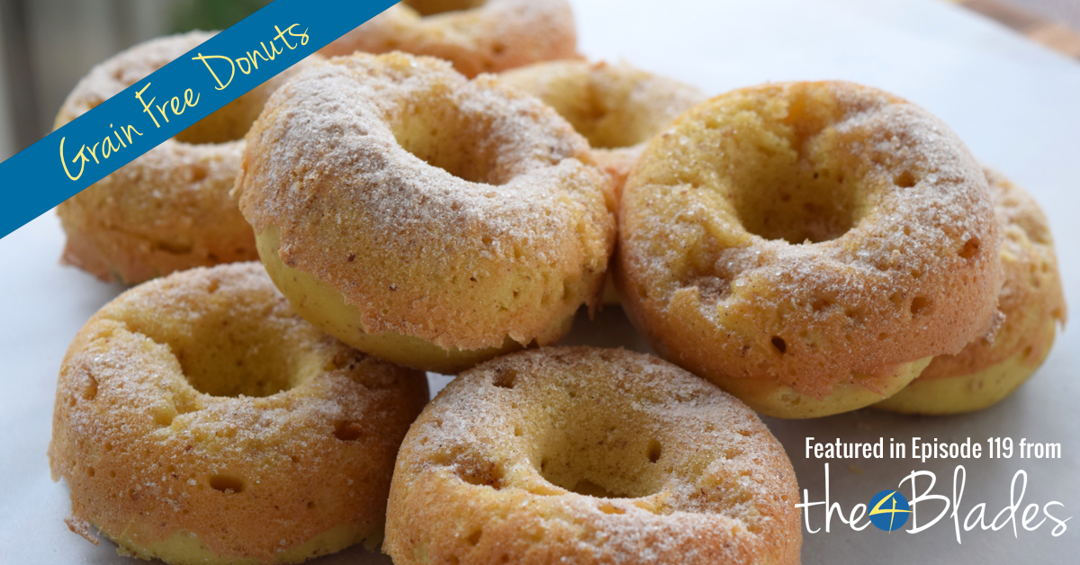 Grain Free Donuts Thermomix Style - The 4 Blades